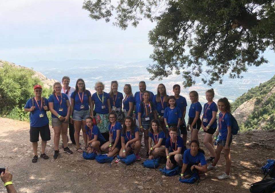 Les Petits Chanteurs de Beauport, Monserrat, Espagne 2018