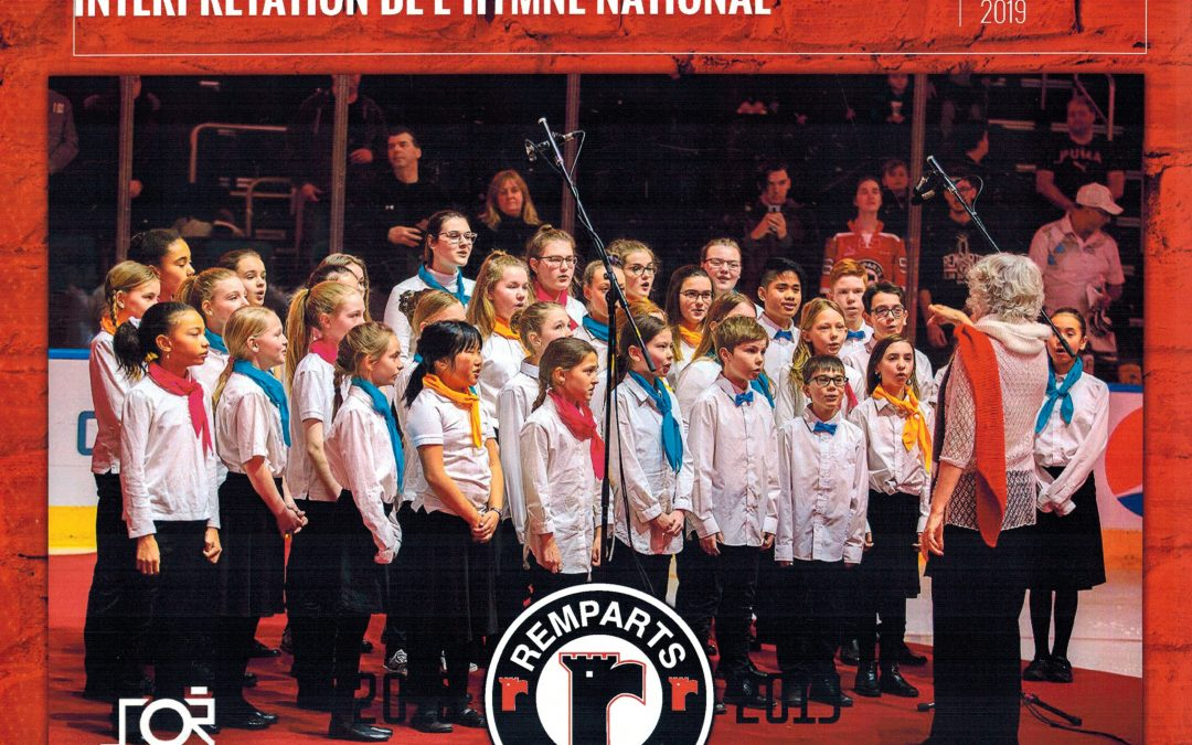 Les Petits Chanteurs de Beauport aux Remparts, Janvier 2019
